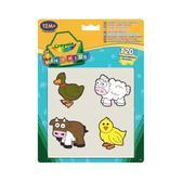 Набор стикеров для самых маленьких Животные; 1+ от Crayola (Крайола)