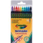 10 цветных  карандашей вертушка, 3+ от Crayola (Крайола)