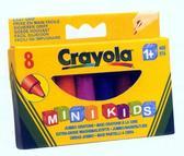 8 восковых мелков для самых маленьких, 1+ от Crayola (Крайола)