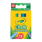 12 цветных мелков Crayola с пониженным выделением пыли, 3+ от Crayola (Крайола)