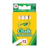12 белых мелков, 3+ от Crayola (Крайола)