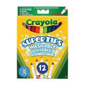 12 тонких фломастеров ярких цветов, 3+ от Crayola (Крайола)