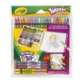 27 цветных карандашей вертушка и блокнот для рисования; 3+ от Crayola (Крайола)