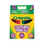12 коротких цветных карандашей, 3+ от Crayola (Крайола)