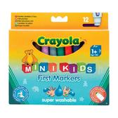12  легко смываемых широких фломастеров, 1+ от Crayola (Крайола)