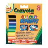8 стираемых фломастеров для письма на доске, 3+ от Crayola (Крайола)