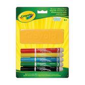 5 фломастеров для доски и бумаги с губкой; 4+ от Crayola (Крайола)