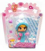 Кукла Пинипон в зимней одежде с голубым шарфом от Pinypon (Пинипон)