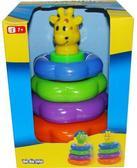 Детская игрушка-пирамидка - жираф; 1+ от BeBeLino (Бебелино)