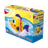 Игрушка для игр в воде на батарейках Волшебная рыбка - Полоски; 1+ от BeBeLino (Бебелино)