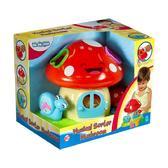 Детская игрушка-сортер Музыкальный домик-Гриб;свет;звук;18М+ от BeBeLino (Бебелино)
