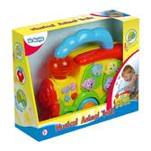 Детская игрушка Музыкальный поезд-Животные;свет;звук;1+ от BeBeLino (Бебелино)