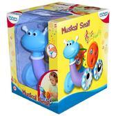 Детская игрушка Музыкальная улитка;1+ от BeBeLino (Бебелино)