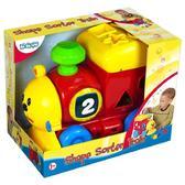 Детская игрушка-сортер Поезд;1+ от BeBeLino (Бебелино)