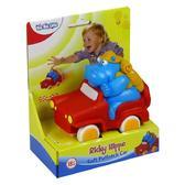 Детская инерц.игрушка Автомобиль Бегемотик Рикки;18М+ от BeBeLino (Бебелино)