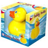 Игрушка для игр в воде Чудесная уточка, умеющая пускать пузыри; звук;  1+ от BeBeLino (Бебелино)