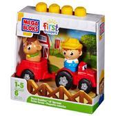 МБ Серия First Builders. Набор конструктора Ферма;6дет.;1+ от Mega Bloks (Мега Блокс)