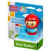 МБ Серия First Builders. Набор конструктора с фигуркой Пилот;2дет.;1+ от Mega Bloks (Мега Блокс)