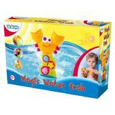 Игрушка для игр в воде на присосках Водяное колесо - Краб; 1+ от BeBeLino (Бебелино)
