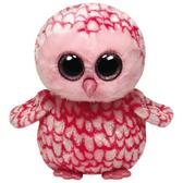 Игрушка мягконабивная сова Pinky 25см от Ty (Ту)