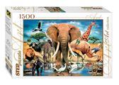 Пазл В мире животных 1500 эл. от Step Puzzle (Степ Пазл)