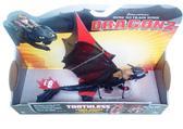 Боевой дракон де-люкс с механической функцией серии Как приручить дракона - 2, дракон Беззубик с полосатыми крыльями от Как приручить Дракона 2 (How to teach dragon 2)