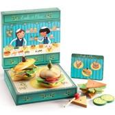 Деревянная игра Бутерброд Эмили, с оливкой от DJECO (Джеко)