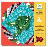 Бумага для оригами  100 шт. от DJECO (Джеко)