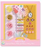 Художественный ювелирный набор Цветы и жемчуг от DJECO (Джеко)