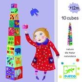 Пирамидка Забавные кубики Мои друзья от DJECO (Джеко)