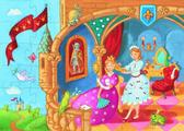 Пазл 36 Принцесса и лягушка