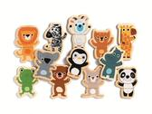 Магнитная игра Забавные животные 24 дет. от DJECO (Джеко)
