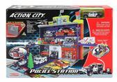 Игровой набор 'Полицейский участок' 3-и уровня с машиной от Realtoy