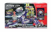 Игровой набор 'Полицейский участок' с машиной (свет и звук) от Realtoy