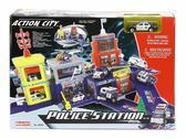 Игровой набор Полицейский участок 2-а уровня с машиной от Realtoy