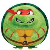 Игрушка мягконабивная Черепашка-ниндзя Рафаель 12см серии Beanie Ballz