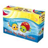 Игрушка для игр в воде Забавные черепашки; 1+ от BeBeLino (Бебелино)