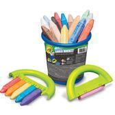 Набор мела для асфальта в ведерке;4+ от Crayola (Крайола)