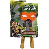 Набор игрушечного оружия серии Черепашки-Ниндзя MOVIE – боевое снаряжение Микеланджело