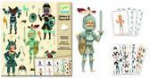 Художественный комплект с наклейками Рыцари от DJECO (Джеко)