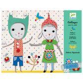 Набор для творчества - художественный коллаж для самых маленьких Малыши от DJECO (Джеко)
