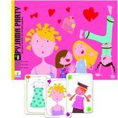 Настольная детская картонная игра Пижамная вечеринка