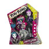 Кукла Pixie Punks с браслетом для девочки, с фиолетовыми волосами от Funville