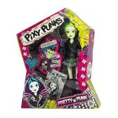 Кукла Pixie Punks с браслетом для девочки, с зелеными волосами от Funville
