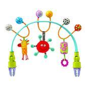 Гибкая дуга для коляски - ЦВЕТНЫЕ ШАРИКИ от Taf Toys (Таф тойс)