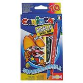 Фломастеры двусторонние Birello, суперсмывающиеся, 10 шт от CARIOCA (Кариока)