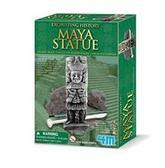 Набор - раскопки исторических артефактов, статуя Майя