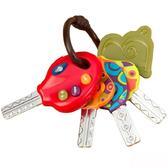 Развивающая игрушка СУПЕР КЛЮЧИКИ (свет, звук, томатный цвет) от Battat (Баттат)