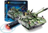 Конструктор Танк Челленджер серии Армия в металлической коробке, 583 детали