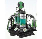 Конструктор Лаборатория Асмуса серии Бен10, 332 детали